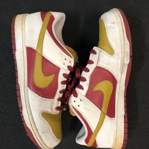 Old fashioned retro Nike hyperdunks